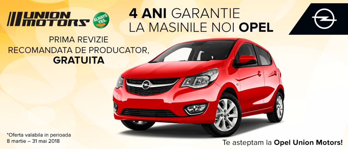 garantie masini Opel