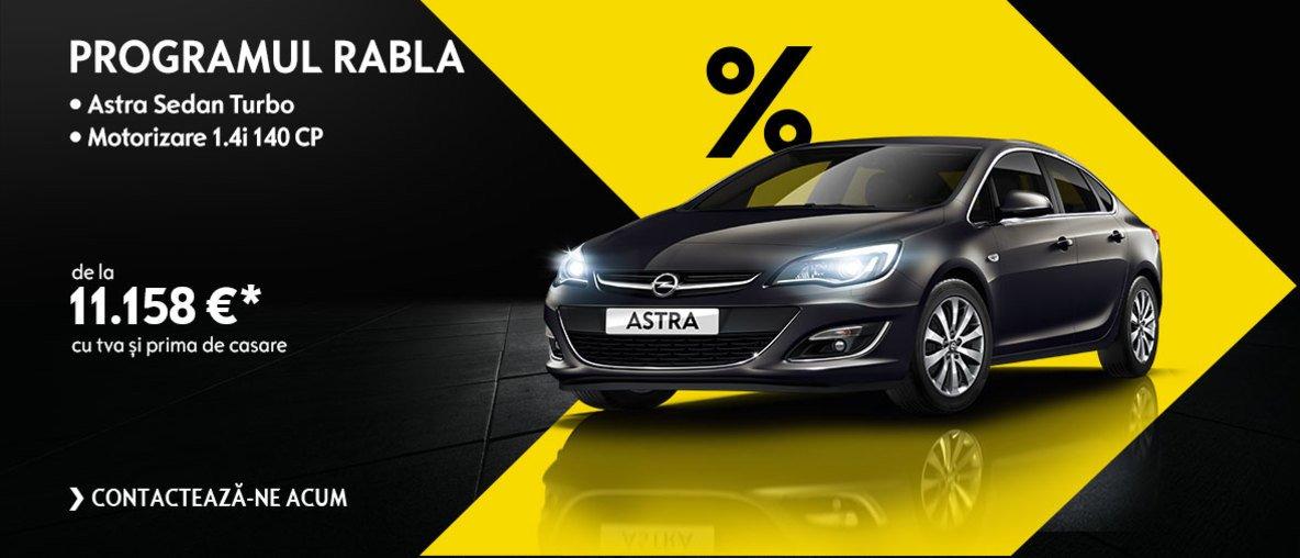 Oferta Opel programul rabla. Opel Astra sedan turbo!