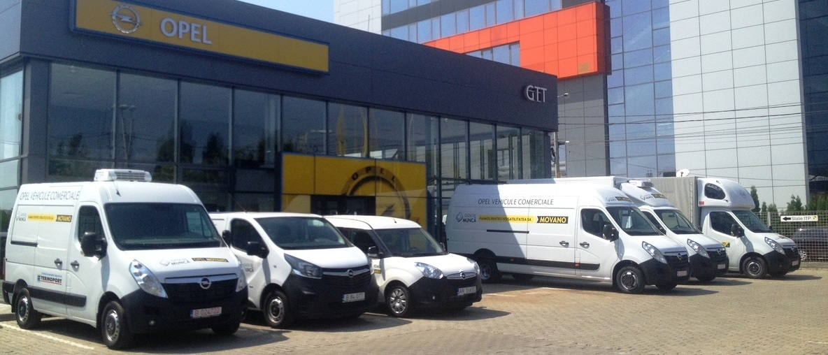 Movano la Opel GTT