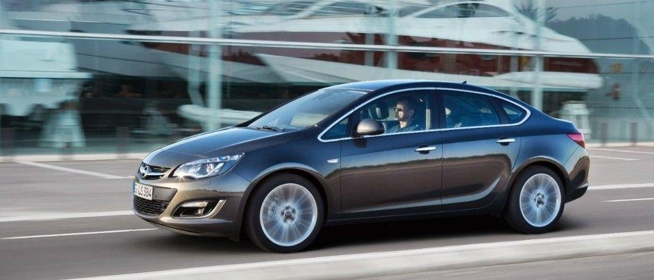 Opel Astra 4 uşi SE