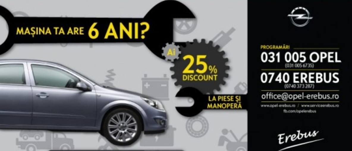 Mașina ta are mai mult de 6 ani?