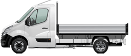 Opel Movano Chassis Cab Tipper
