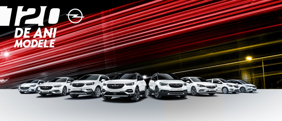 "Modele ""120 ani"" Opel I Prezentare modele"