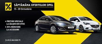 SAPTAMANA OFERTELOR OPEL! Intre 15-20 Octombrie gasesti la Opel GTT cele mai bune oferte posibile! Nu le rata!
