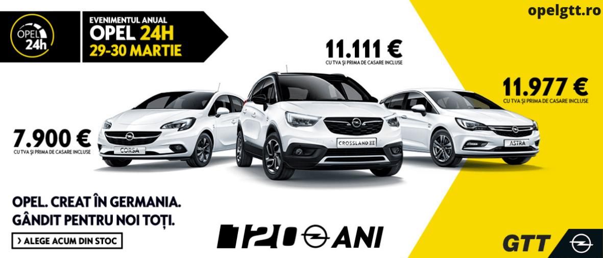 Opel GTT 24 H 2019