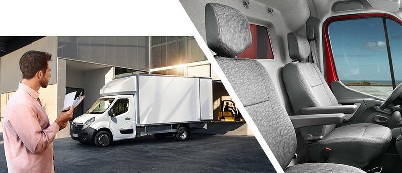 Opel Movano Box Van