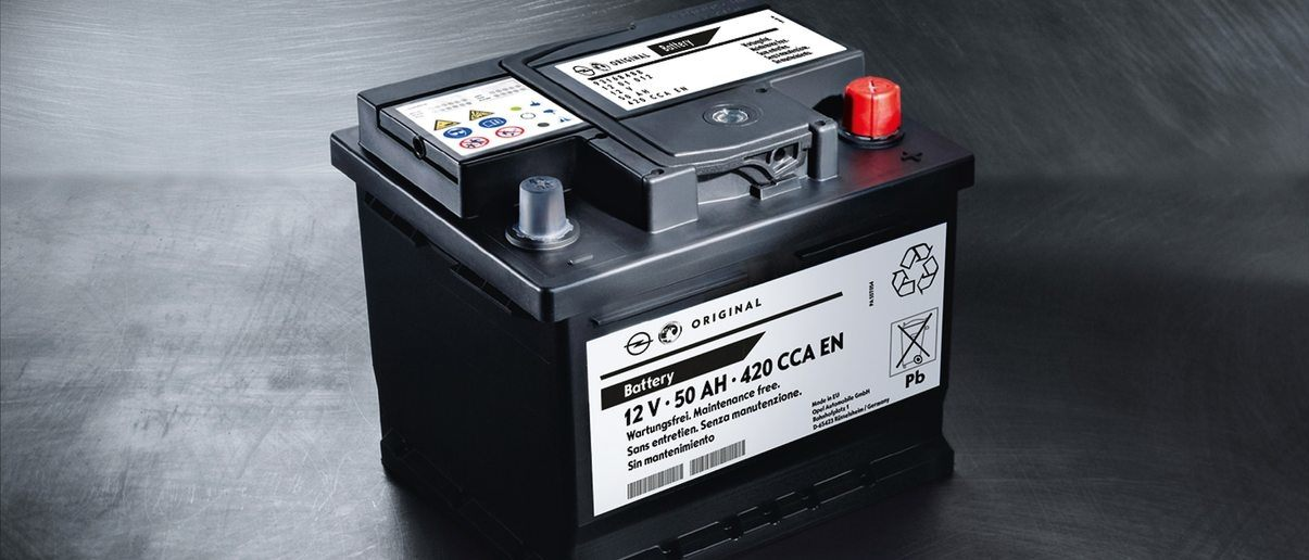 Baterii Opel