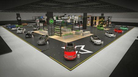 """Bine ați venit la """"X-Ville"""": standul Opel de la Salonul Auto de la Frankfurt este dedicat mobilității personale"""