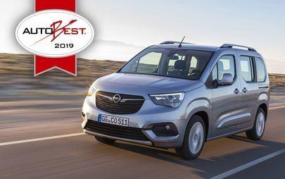 """Gala AUTOBEST: Opel Combo Life este """"Cea mai bună achiziție din Europa în 2019"""""""
