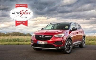 Noul Opel Grandland X ajunge în finala AUTOBEST 2018