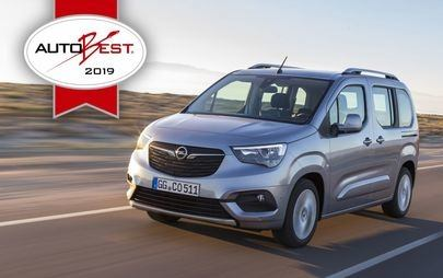 "AUTOBEST: Opel Combo Life este ""Best Buy Car of Europe 2019"""