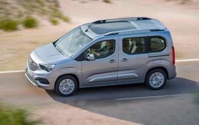 Noile modele Opel Combo Life și Opel Combo, concepute conform standardelor pentru autoturisme