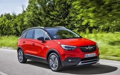 """Opel Crossland X este """"Cel mai bun din clasa sa în 2017"""" la testele Euro NCAP"""