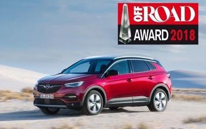 Cel mai bun din clasa sa: Opel Grandland X a câștigat premiul Off Road