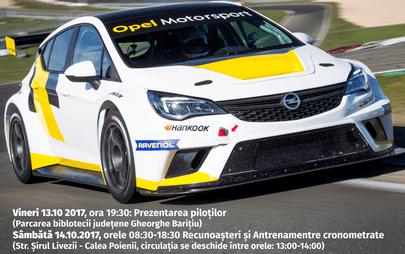 Weekendul 14-15 Octombrie aduce Trofeul Opel
