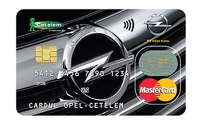 Cardul Opel Cetelem